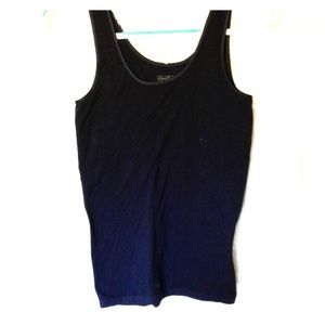 The limited navy tank top